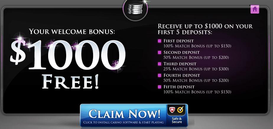 Luxury Casino Bonus Code